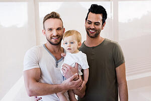 Gay Men With Child