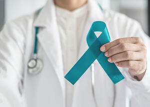 PCOS Awareness Ribbon